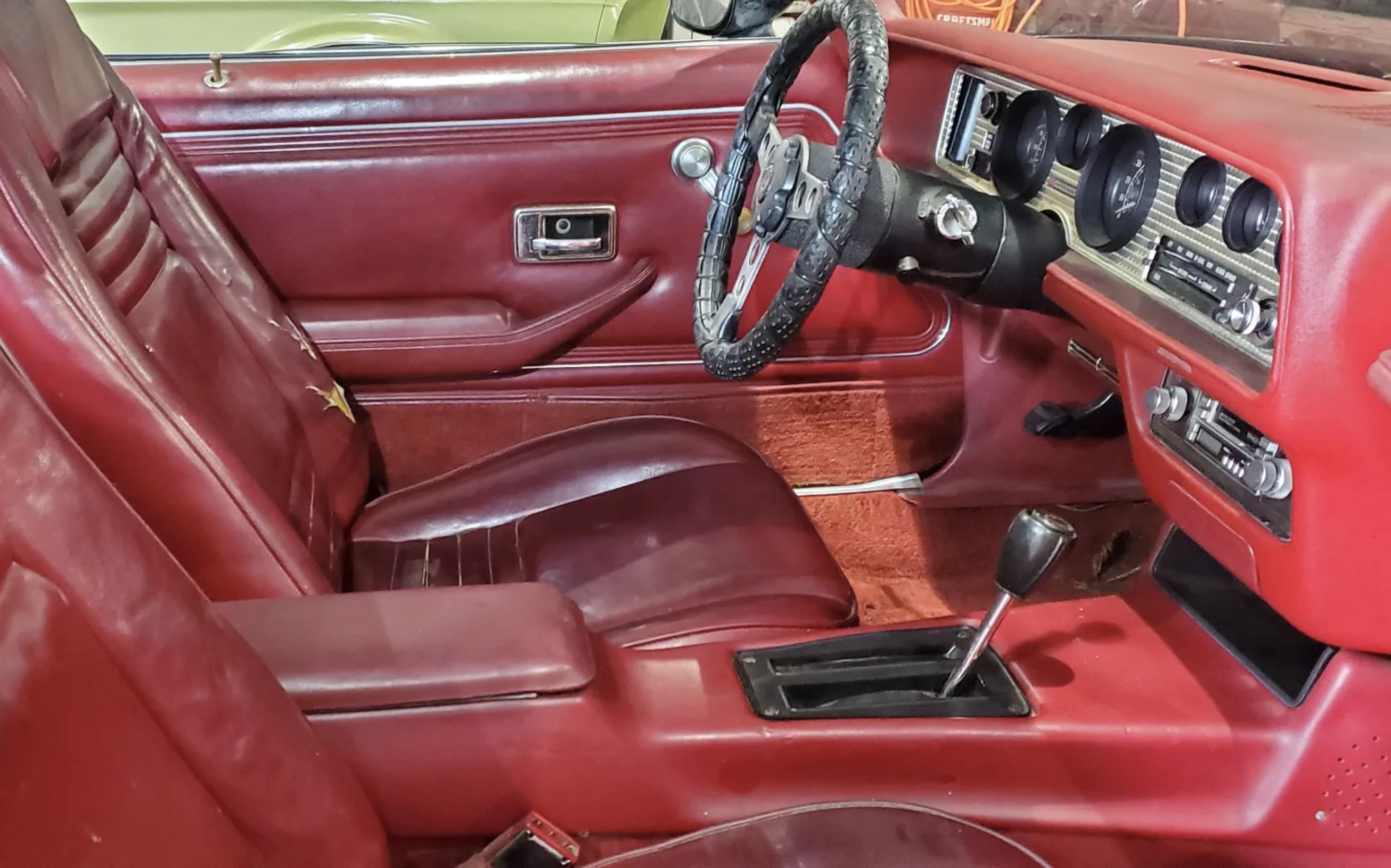 1978 Pontiac Firebird Trans Am barn find