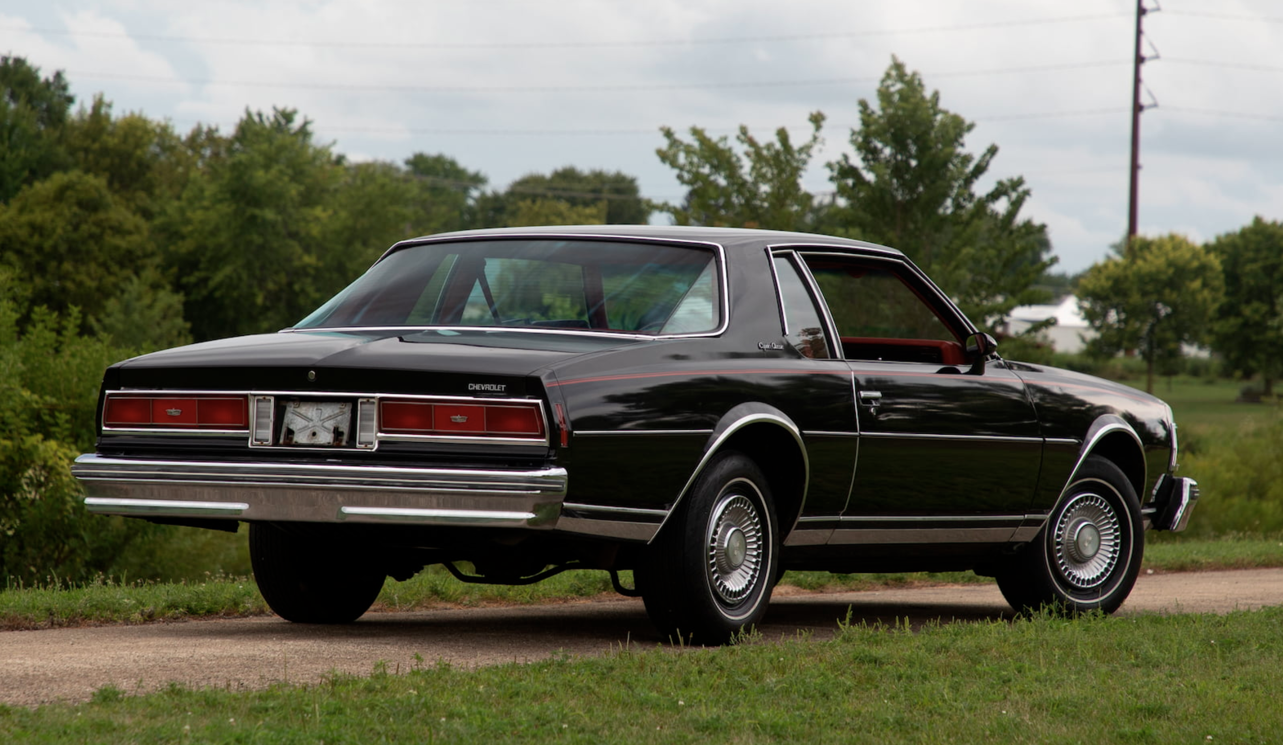 1977 Caprice coupe front three quarter