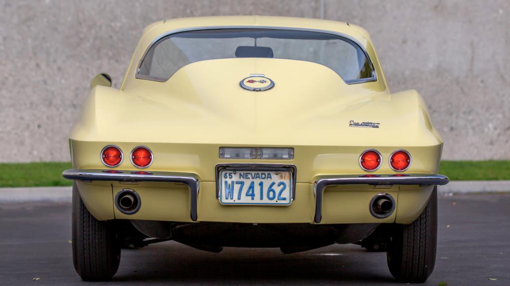 1967 Chevrolet Corvette L88 Coupe rear