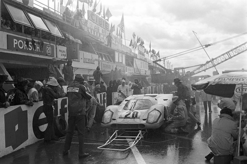 Steve McQueen 24 Hours Of Le Mans Porsche 917