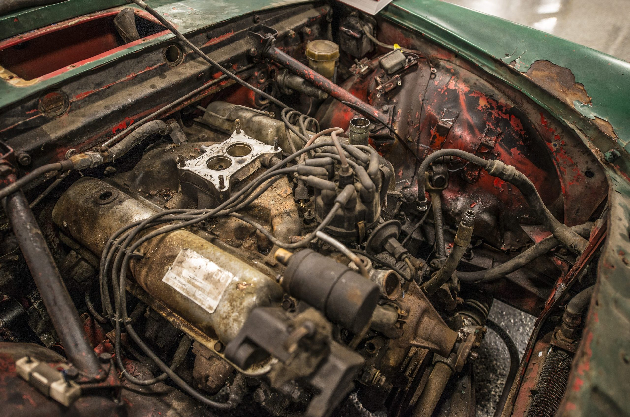 Sunbeam Tiger Restoration Engine