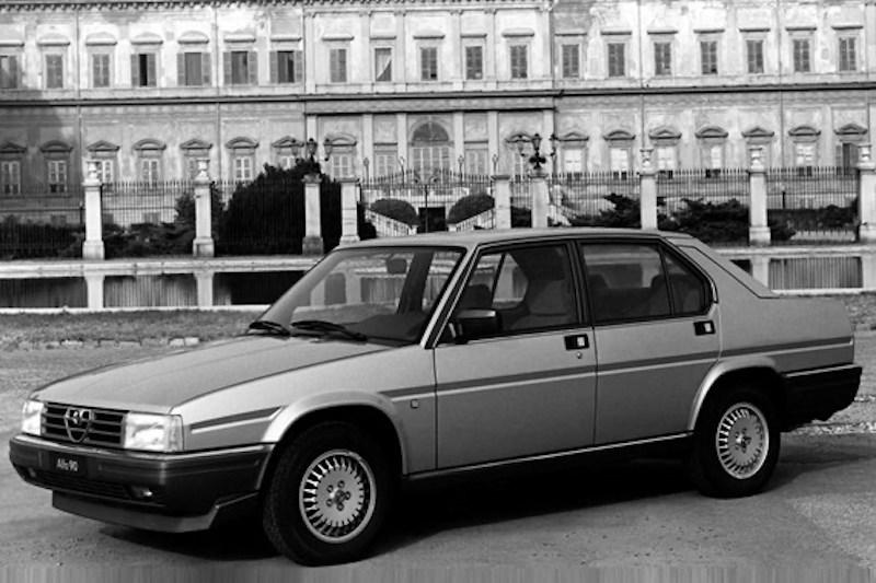 Alfa Romeo 90 front three-quarter