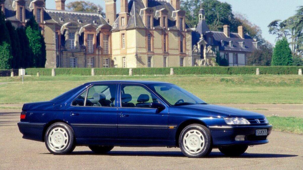 Peugeot 605 front three-quarter