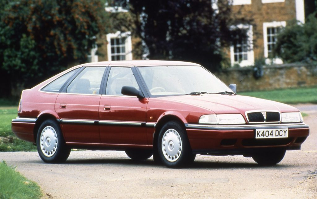 Rover 800 front three-quarter