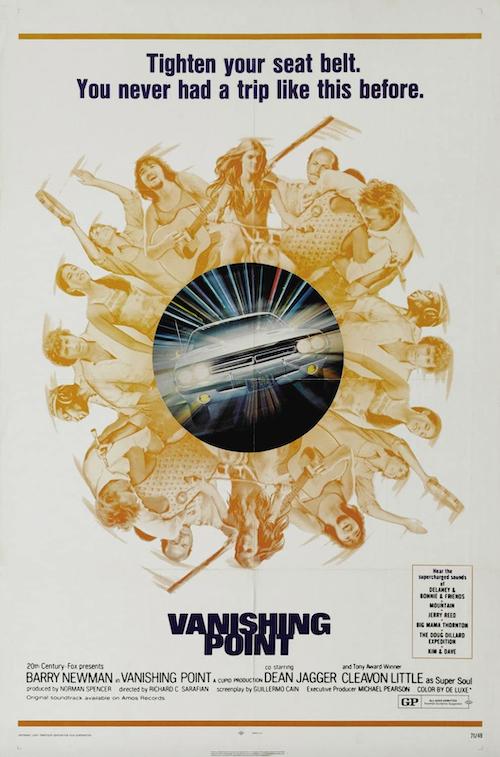 Vanishing Point Movie Poster Art