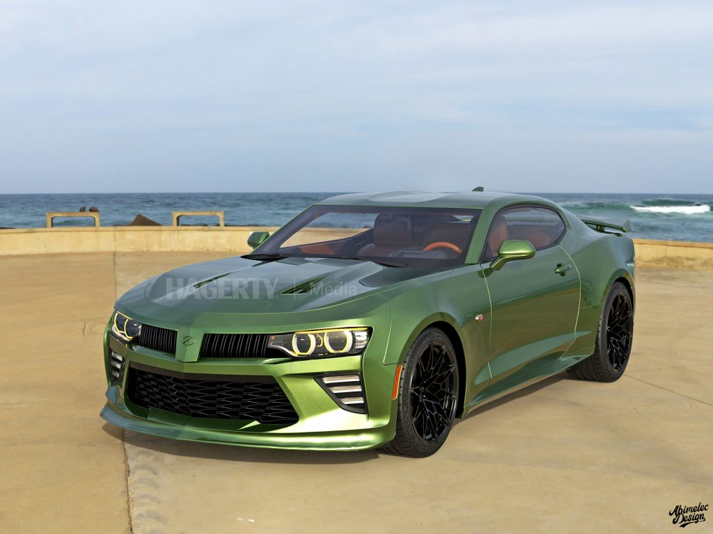 2021 Oldsmobile Cutlass Supreme what if graphic render green