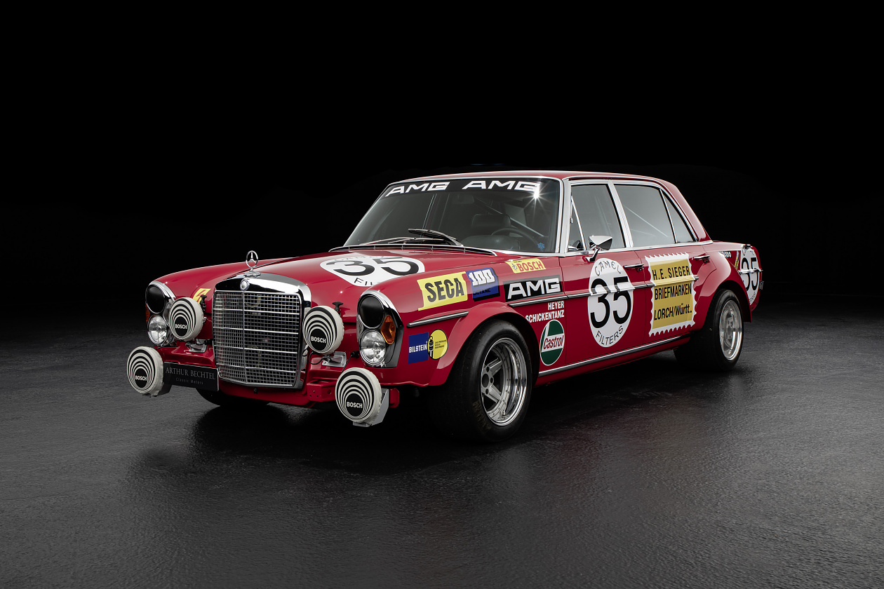 This Red Pig is a born again AMG race replica
