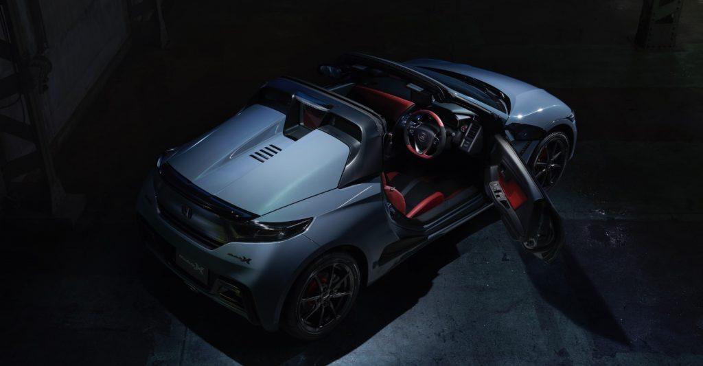 Honda S660 Modulo X top shot
