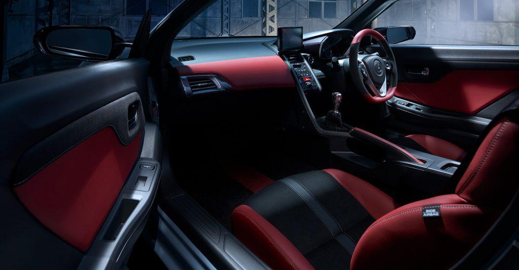Honda S660 Modulo X interior