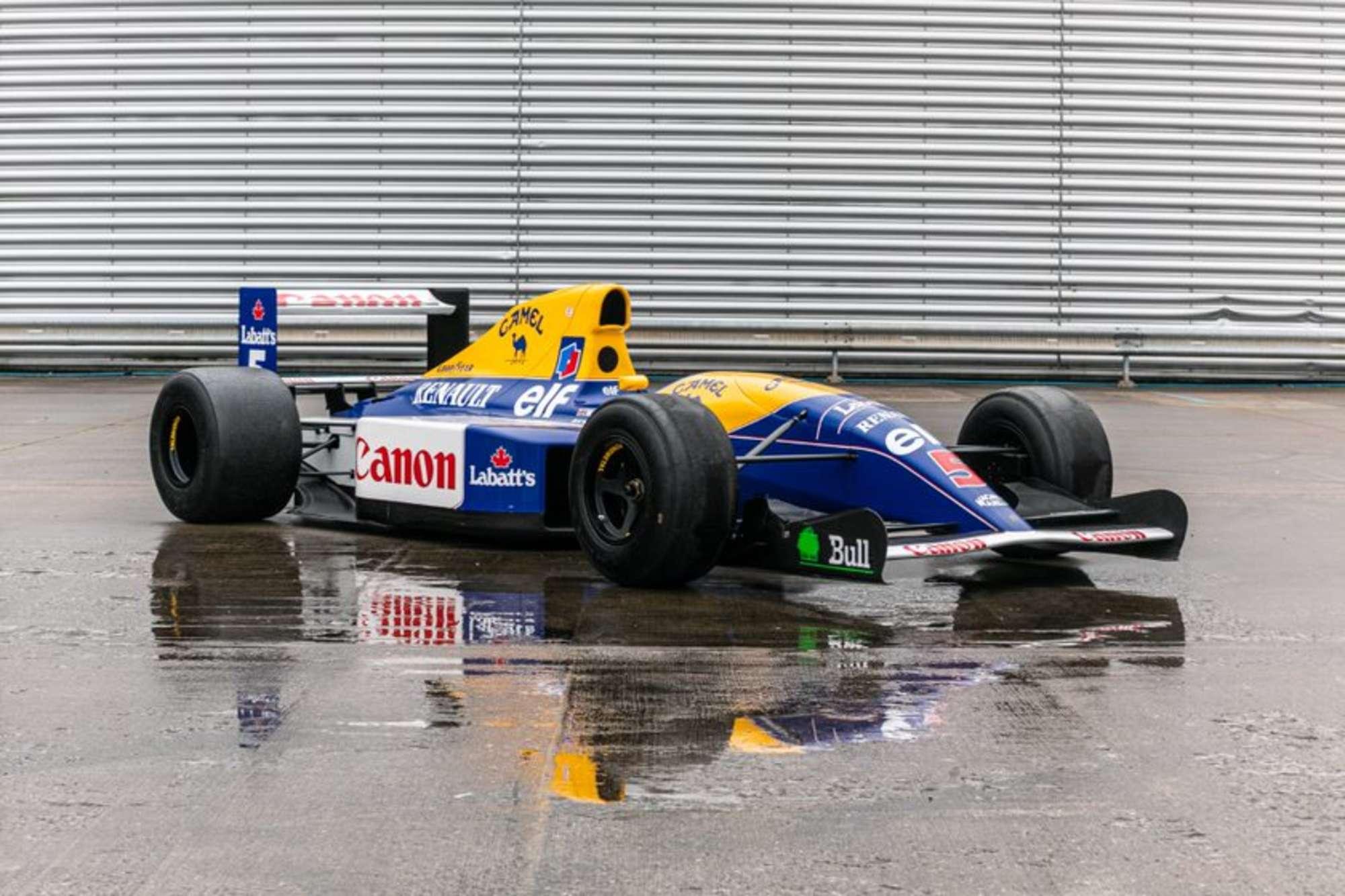 Williams FW14 show car 10