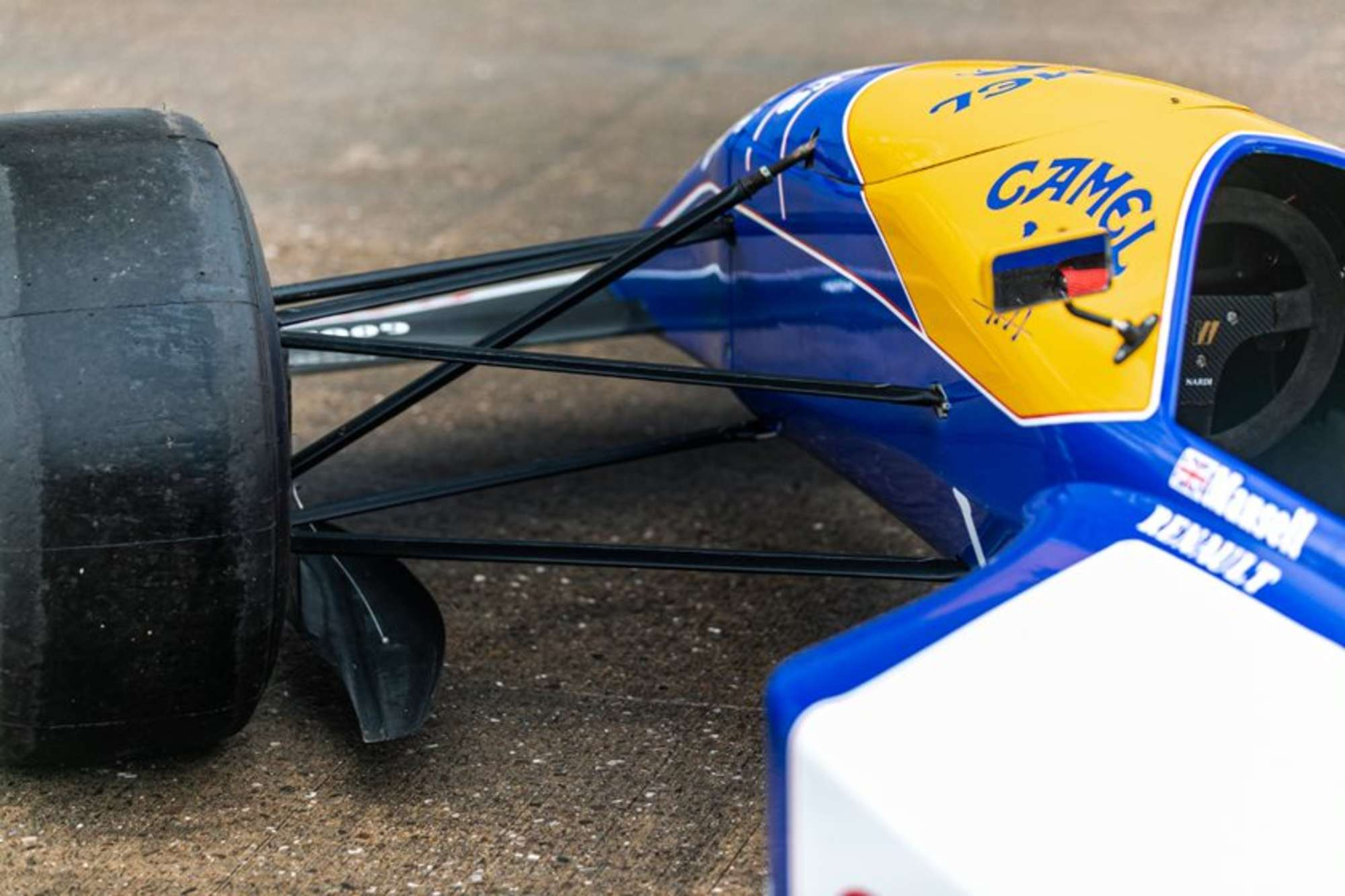 Williams FW14 show car 1