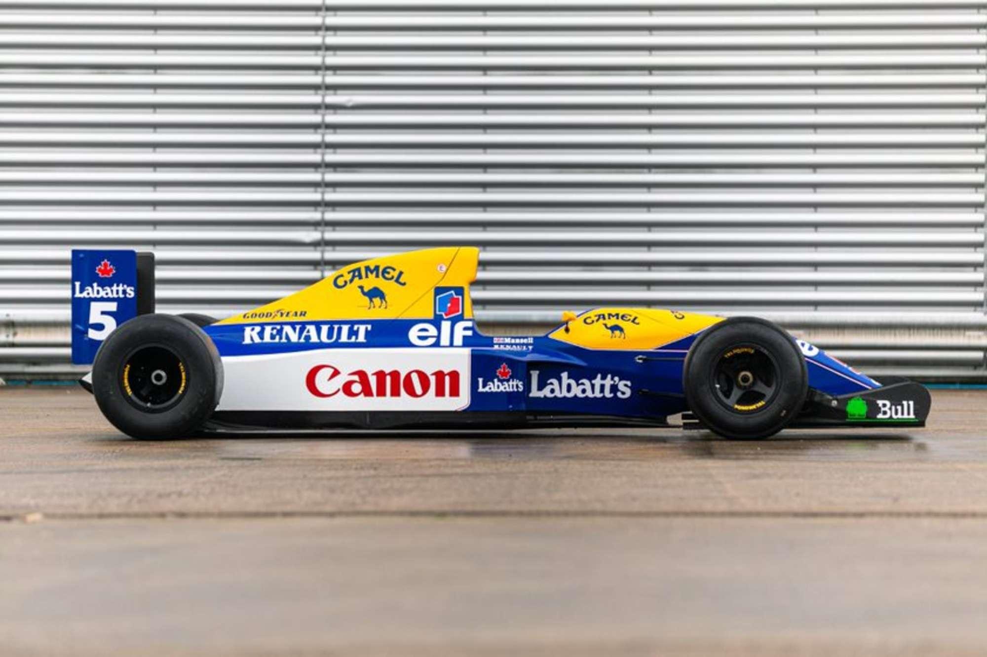 Williams FW14 show car 8