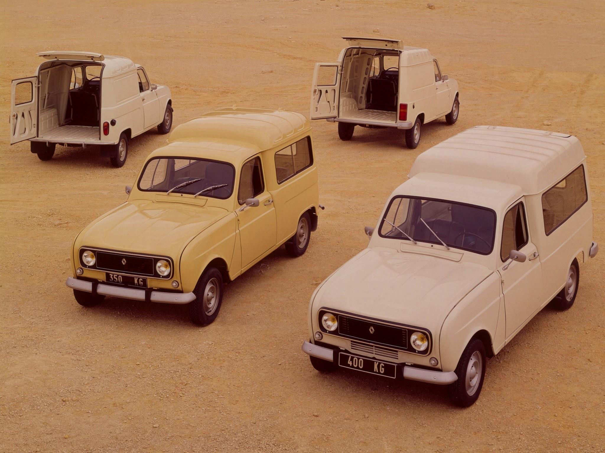 Renault 4 vans