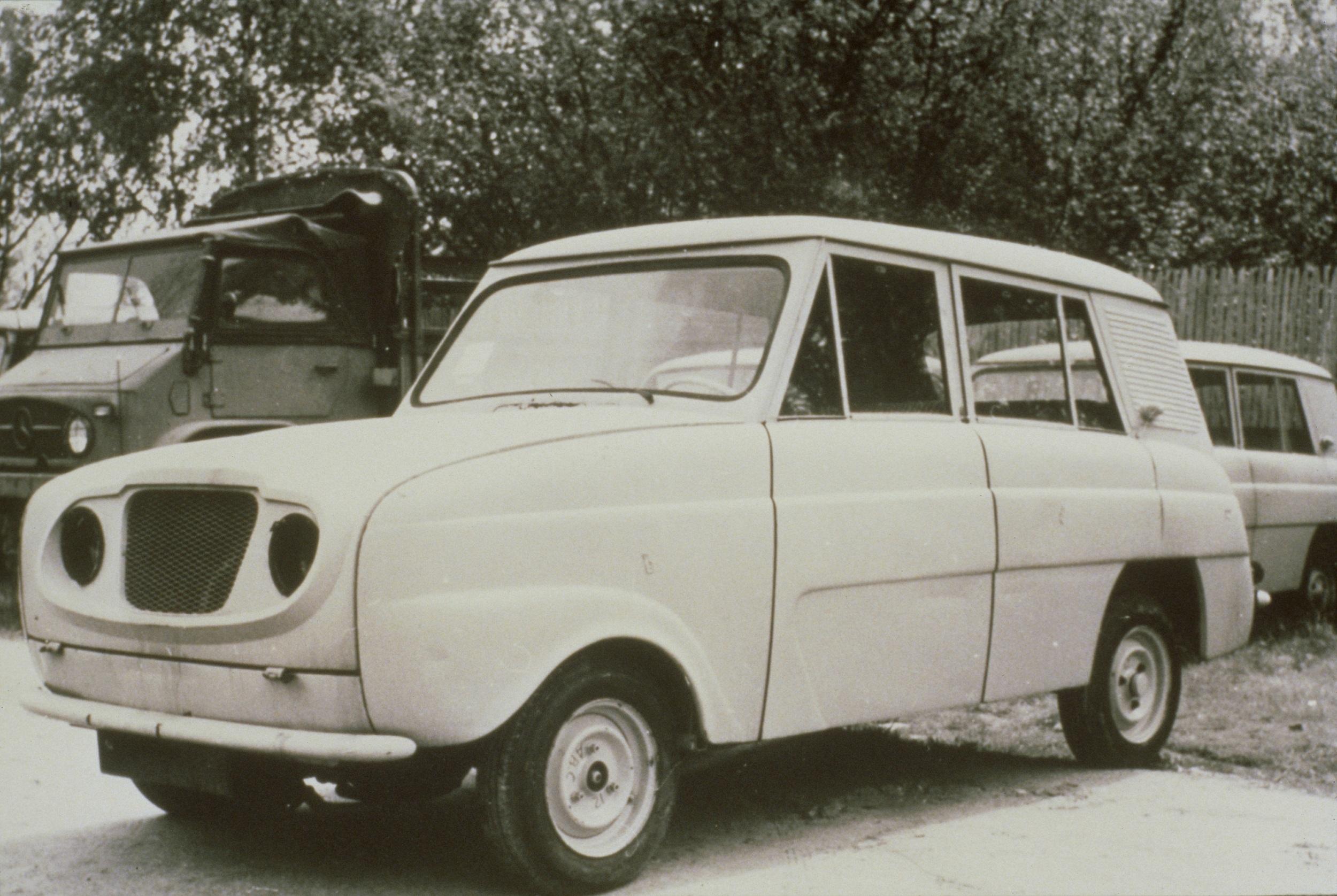 Renault 4 prototype, 1958