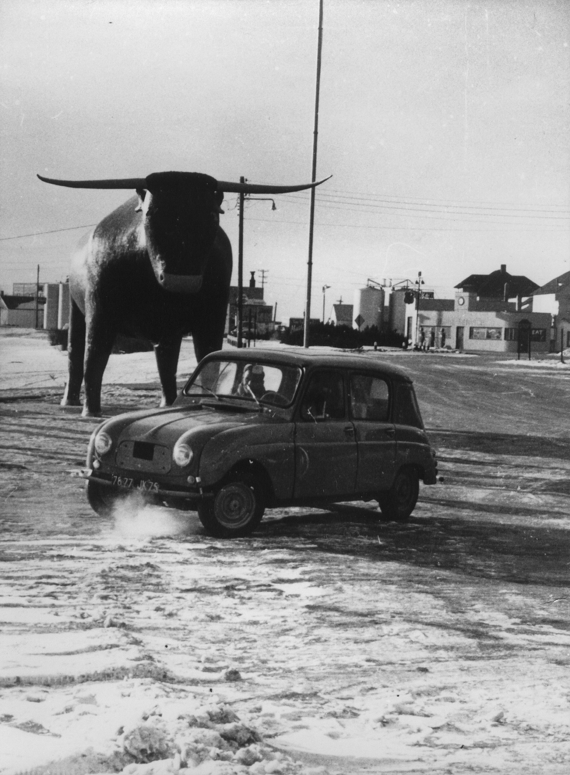 Renault 4 prototype, 1960
