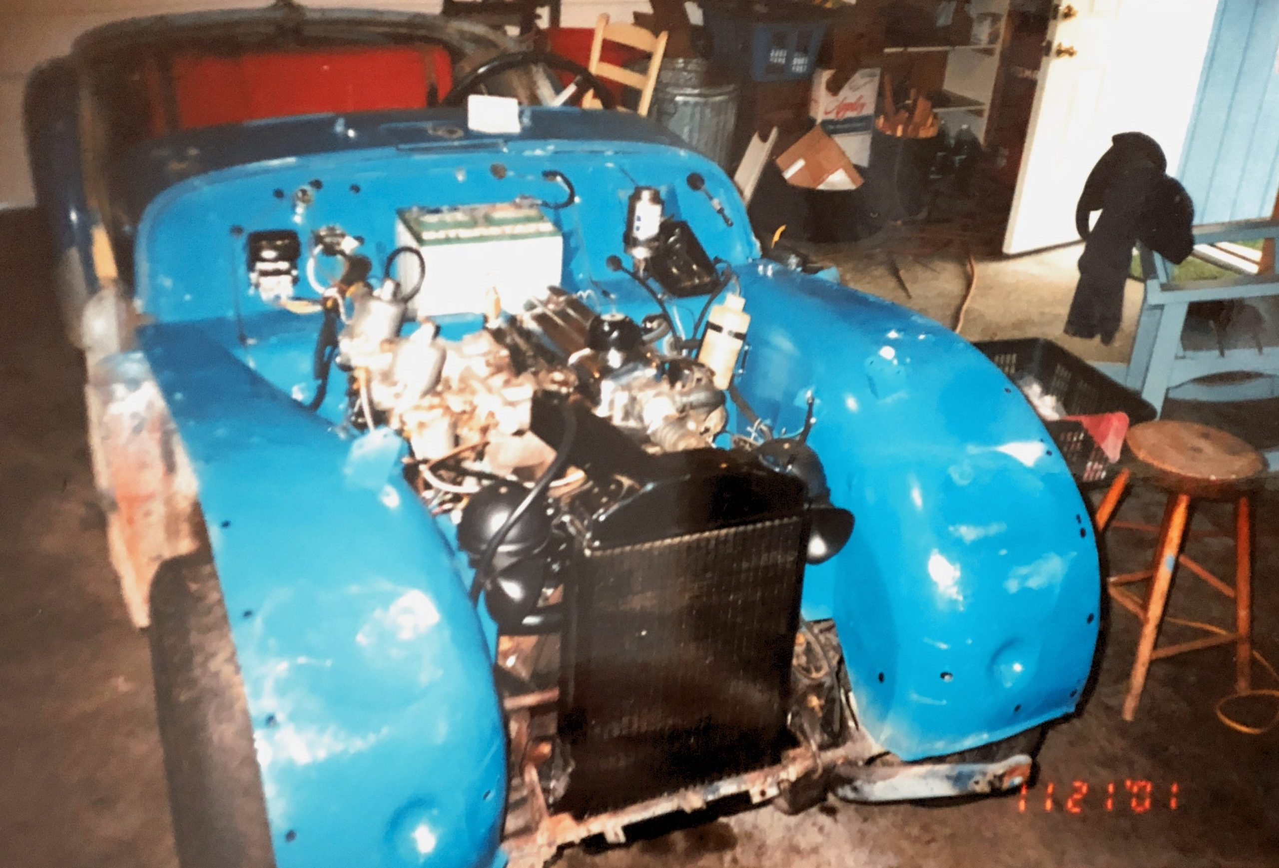 1959 Triumph TR3 restoration 2001