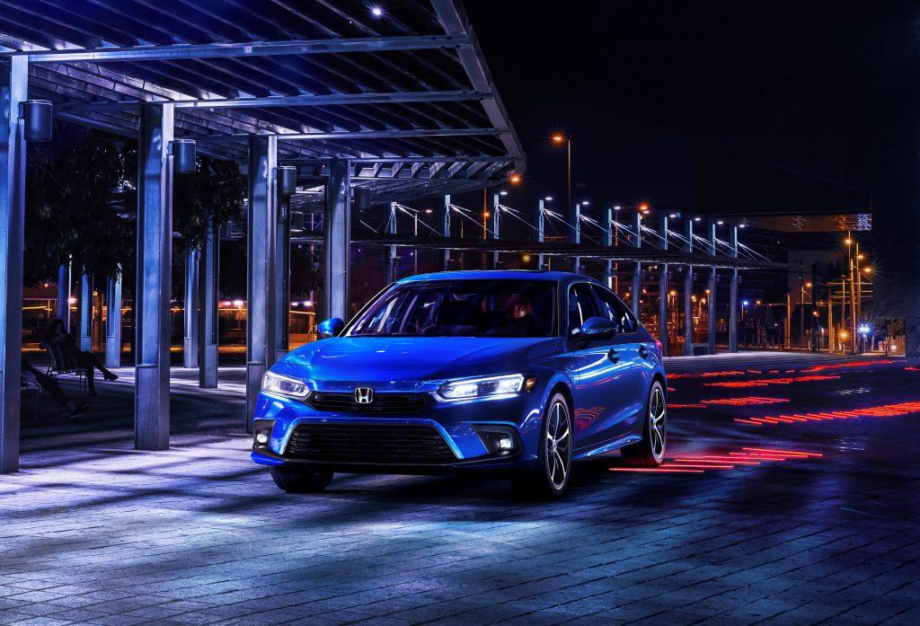2022 Honda Civic Sedan blue