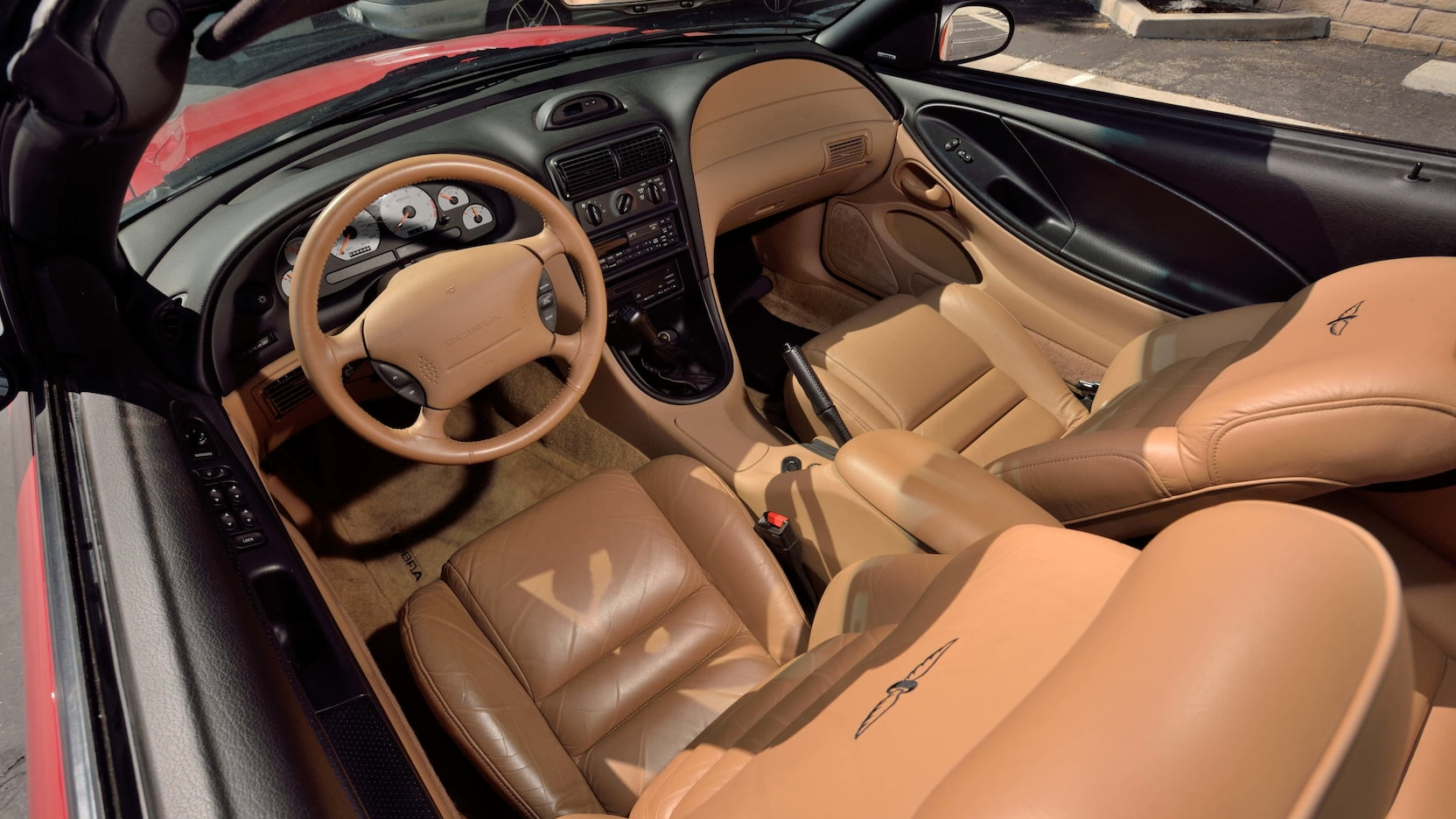 1994 Ford Mustang SVT Cobra Pace Car Edition interior Parnelli Jones Mecum