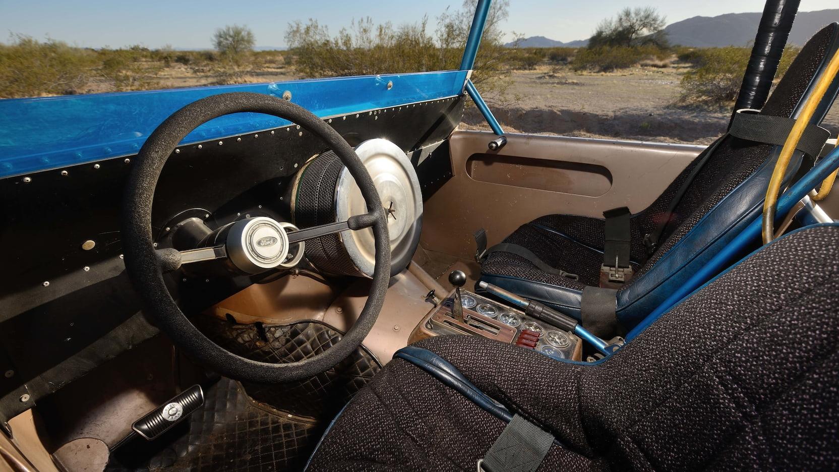 1969 Ford Bronco Big Oly Mecum Parnelli Jones interior