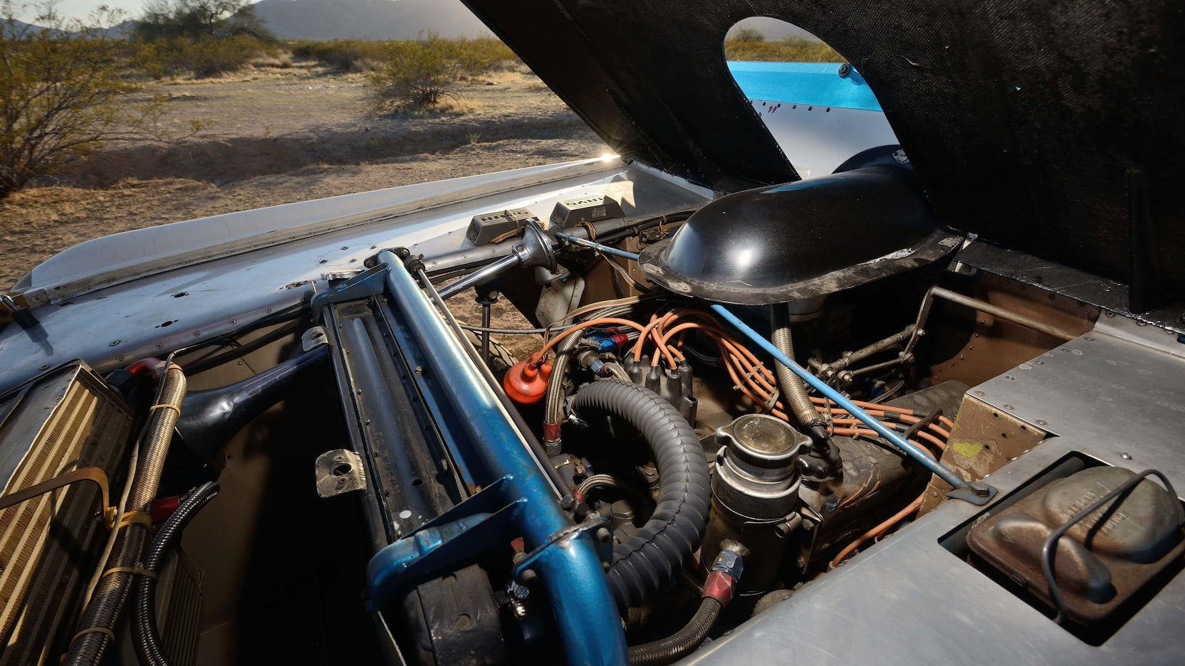 1969 Ford Bronco Big Oly Mecum Parnelli Jones engine