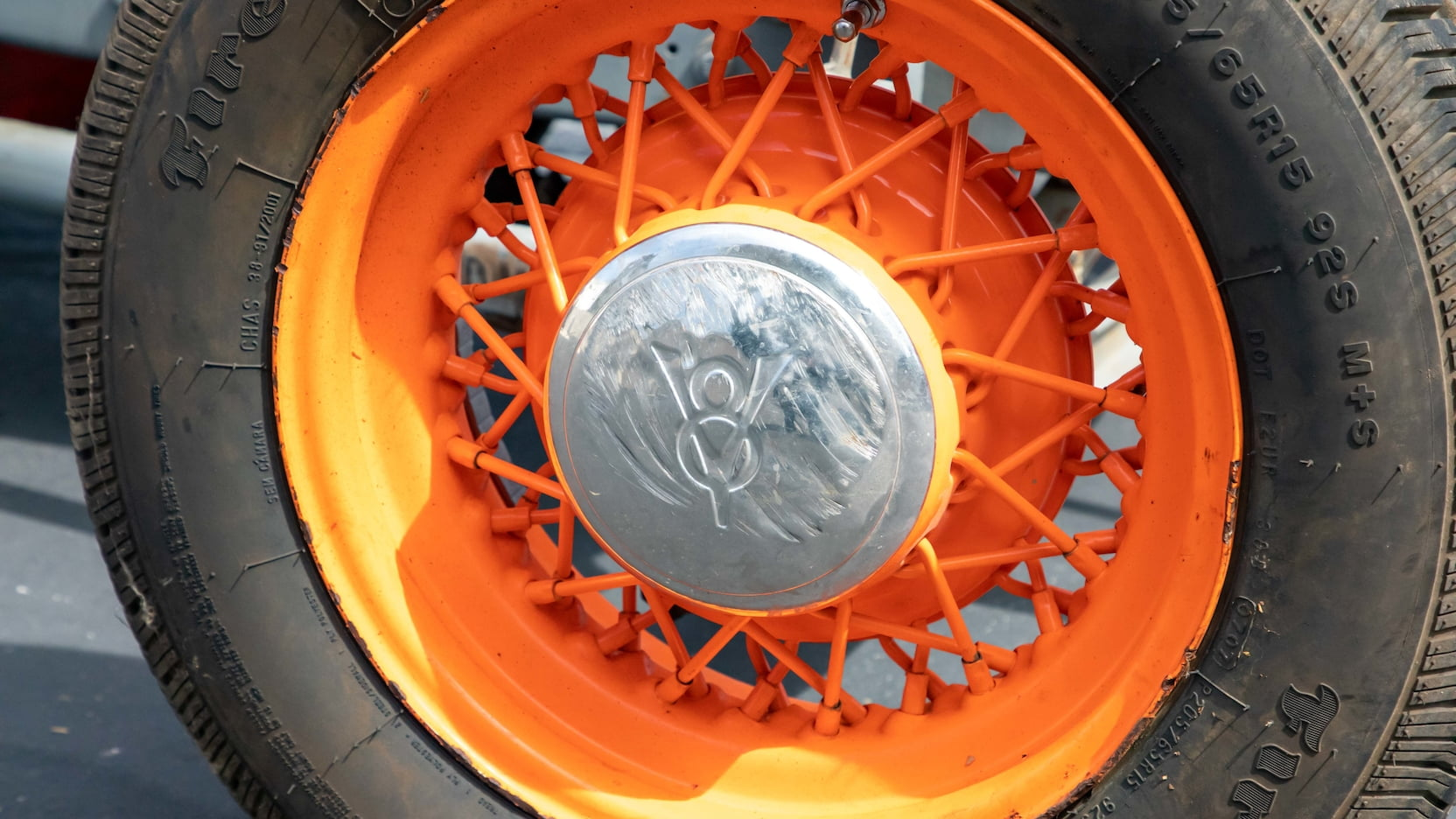 1927 Ford T-bucket track roadster Parnelli Jones Mecum wheel