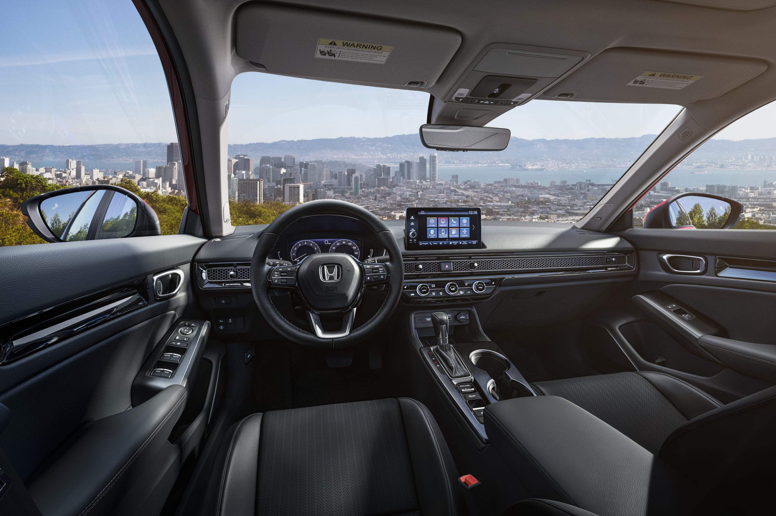 2022 Honda Civic Sedan Sport interior