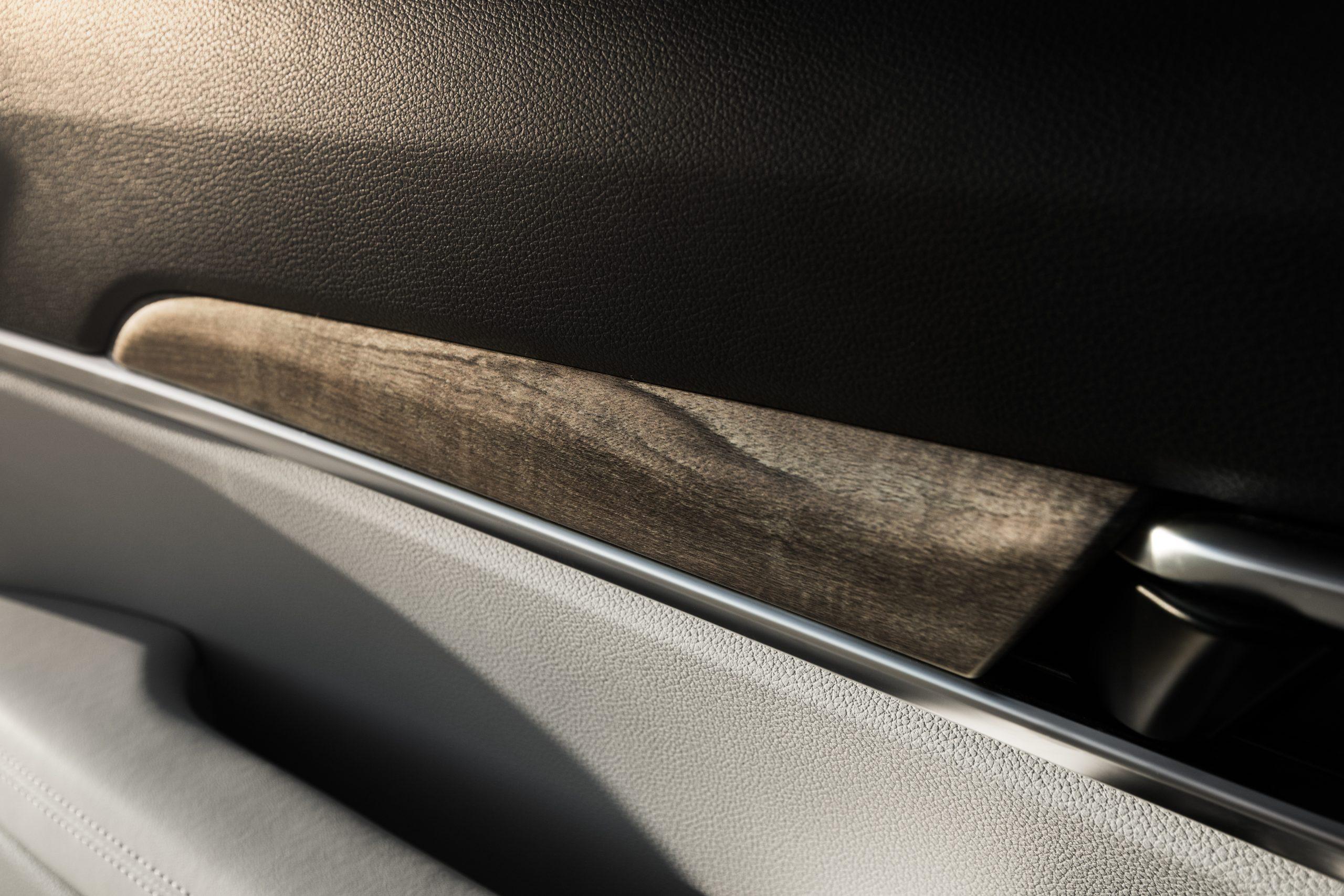 2021 Kia Telluride wood trim