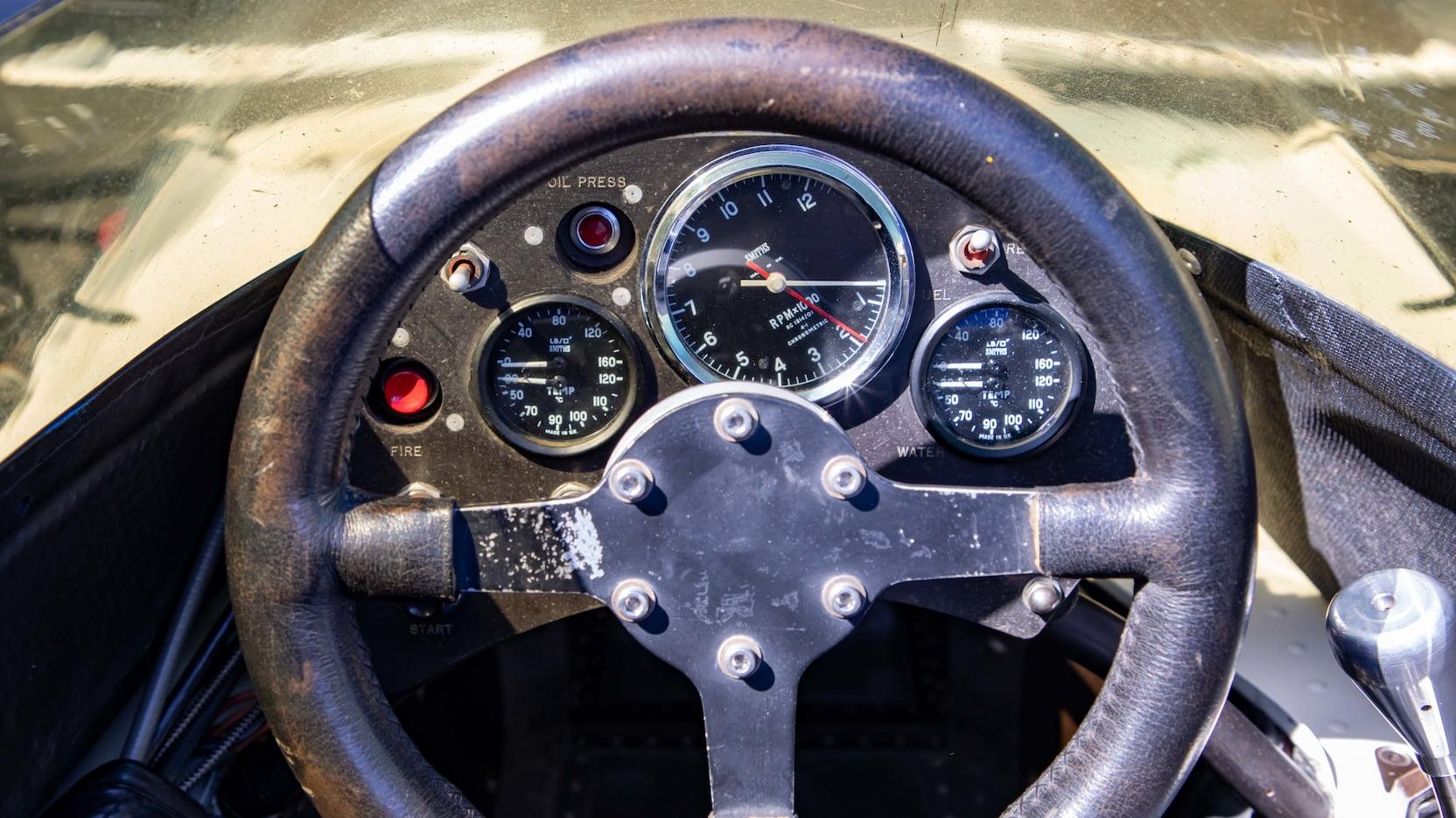 1974 Parnelli VPJ-4 Formula 1 Jones Mecum steering wheel
