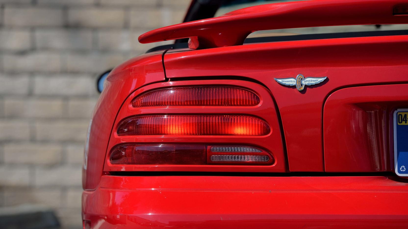 1994 Ford Mustang SVT Cobra Pace Car Edition Parnelli Jones Mecum
