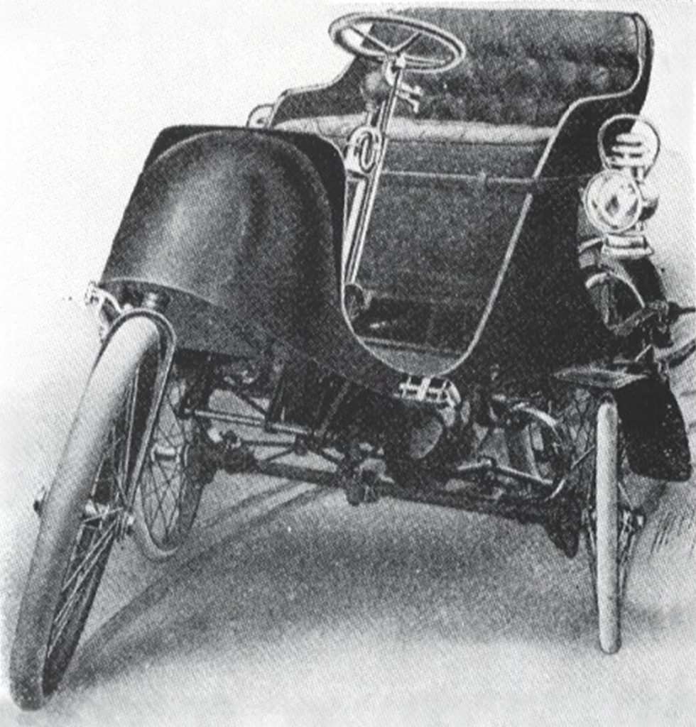 1907 Autocycle drawing front