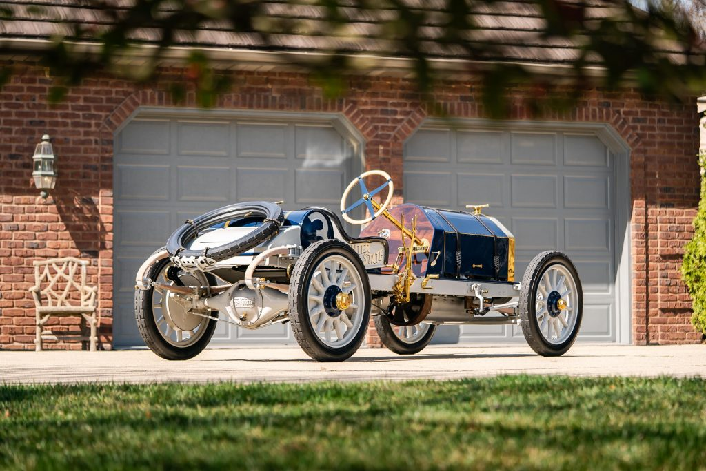 1911 Inter-State Fifty Bulldog Indianapolis Recreation rear three-quarter