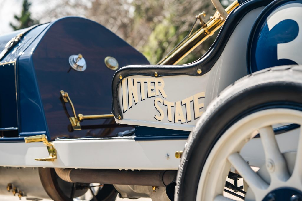 1911 Inter-State Fifty Bulldog Indianapolis Recreation side