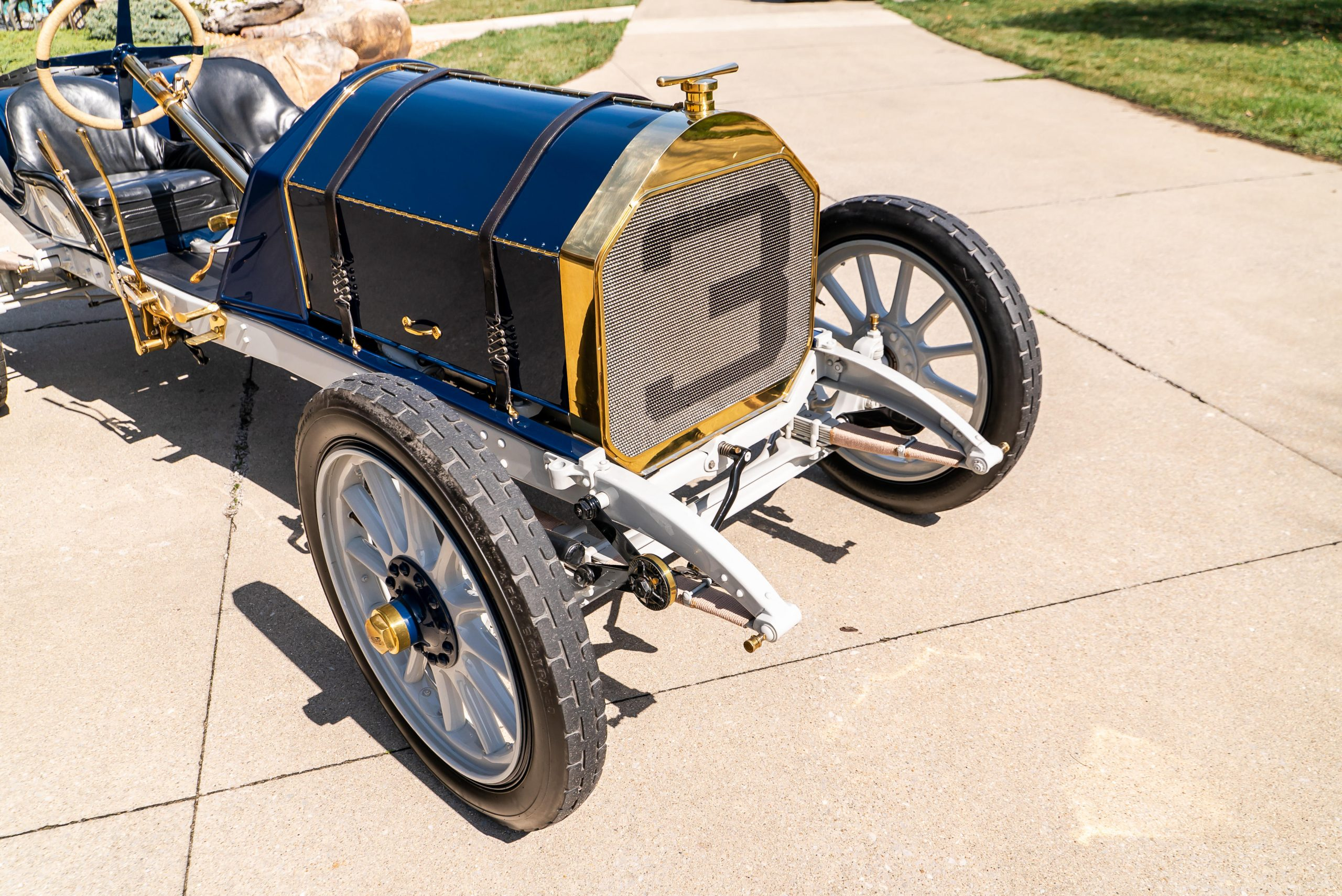 1911 Inter-State Fifty Bulldog Indianapolis Recreation front