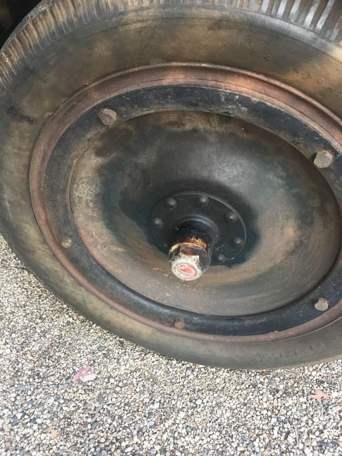 1925 Jewett wheel