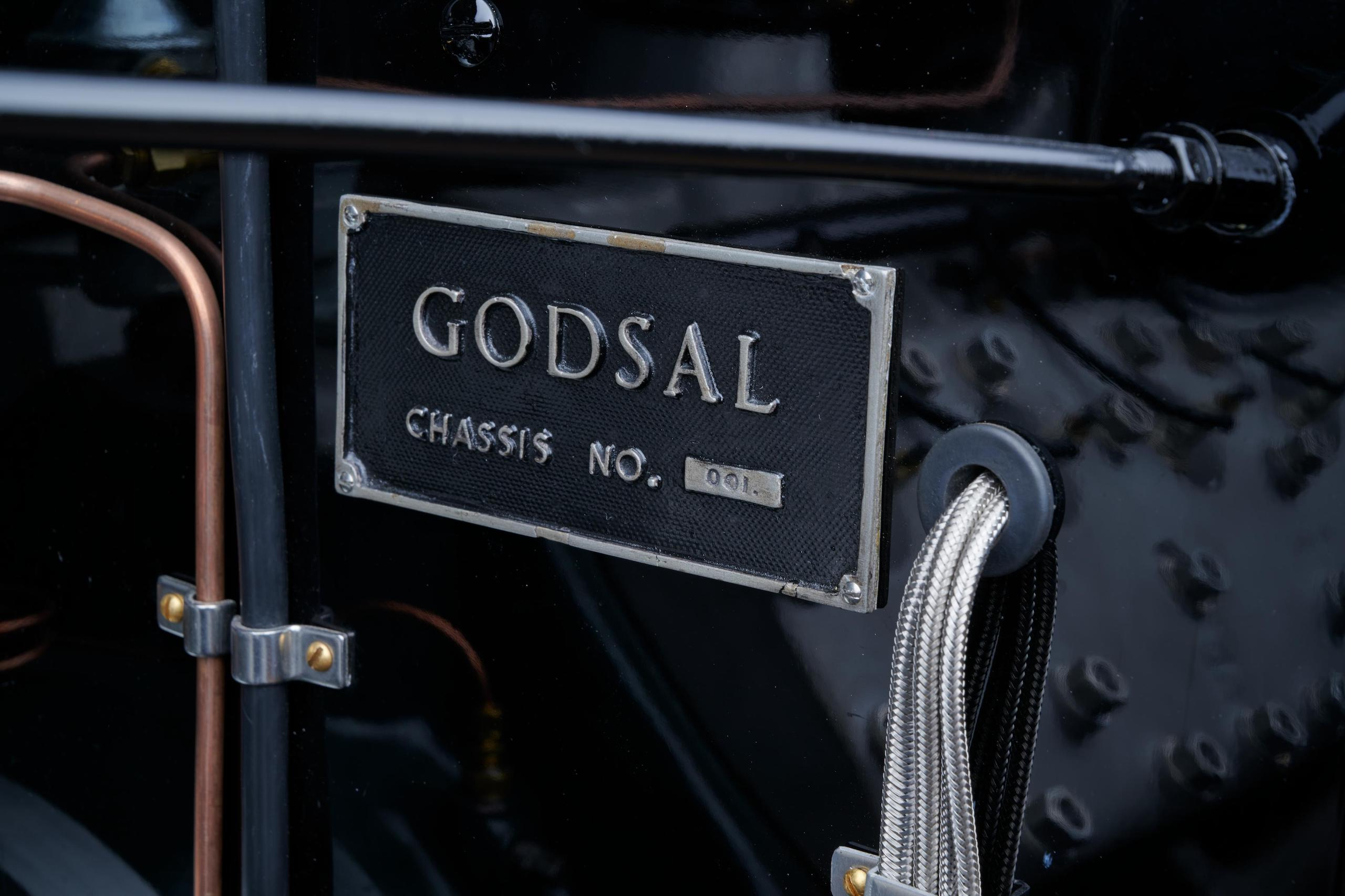 1935 Godsal Sports Tourer plate