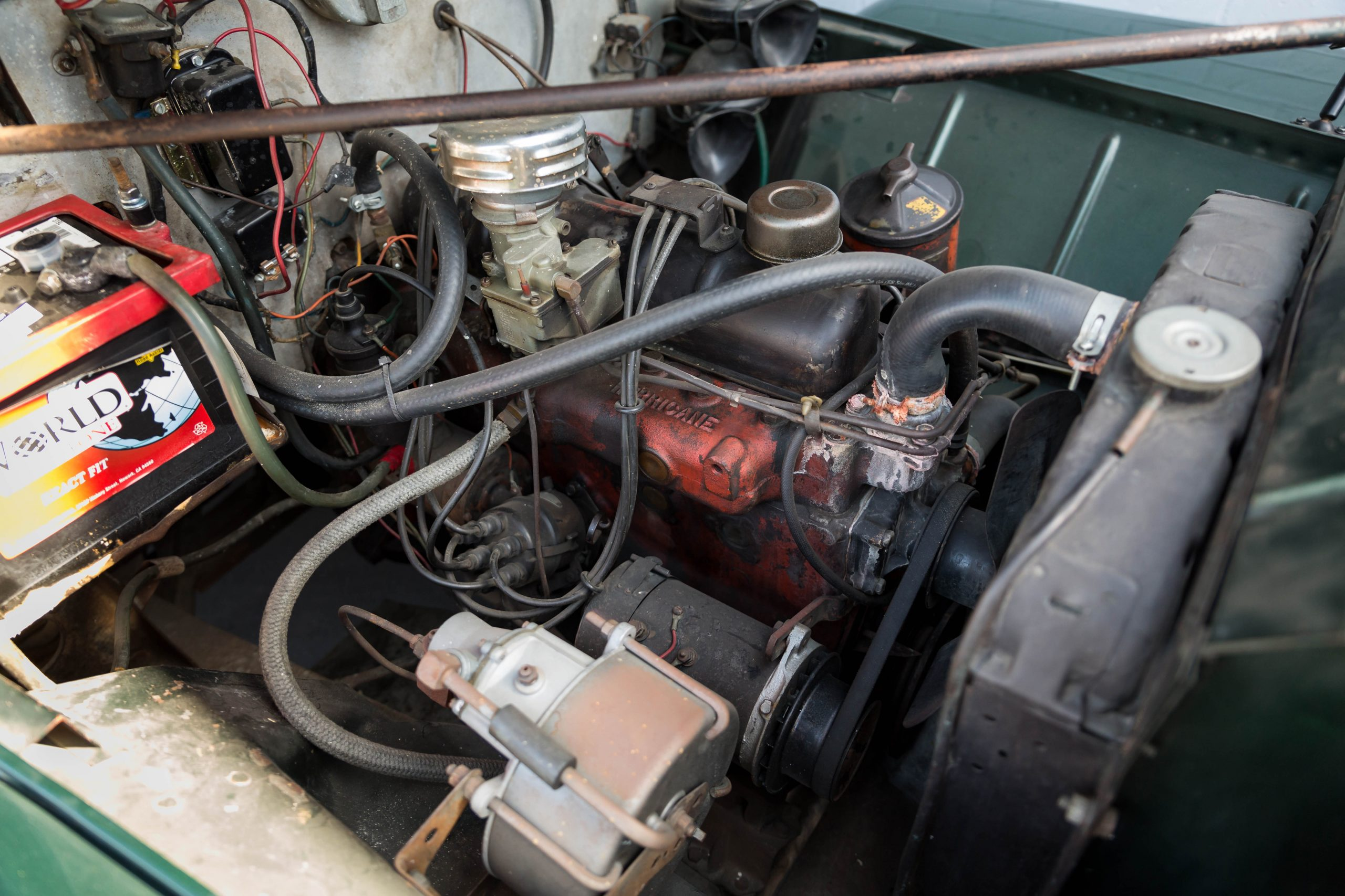 1949-Willys-Jeep-Station-Wagon-Camper engine