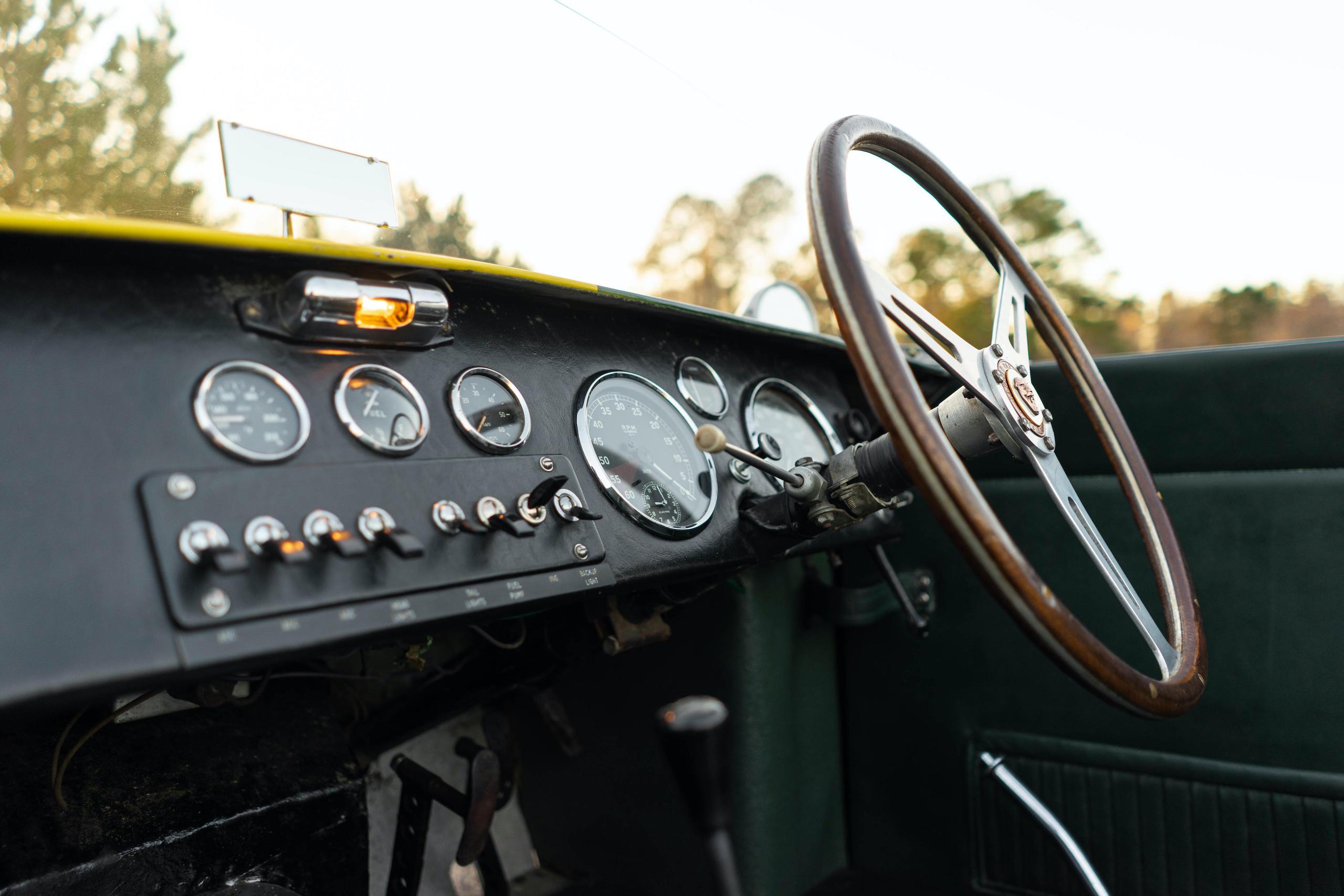 1953 RGS Atalanta interior dash