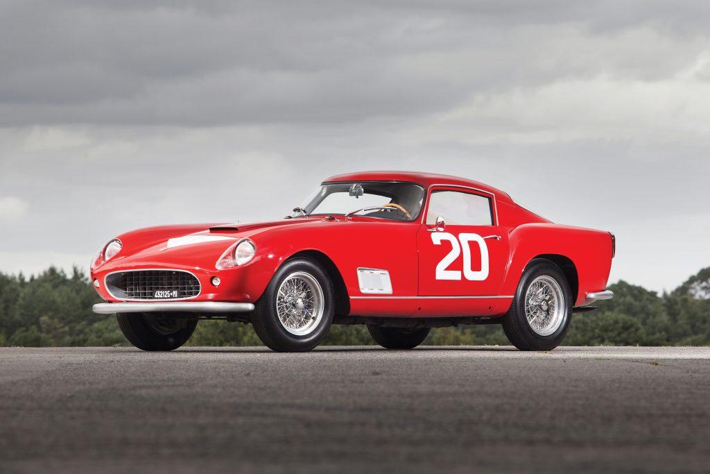 1958 Ferrari 250 GT Berlinetta Competizione front three-quarter