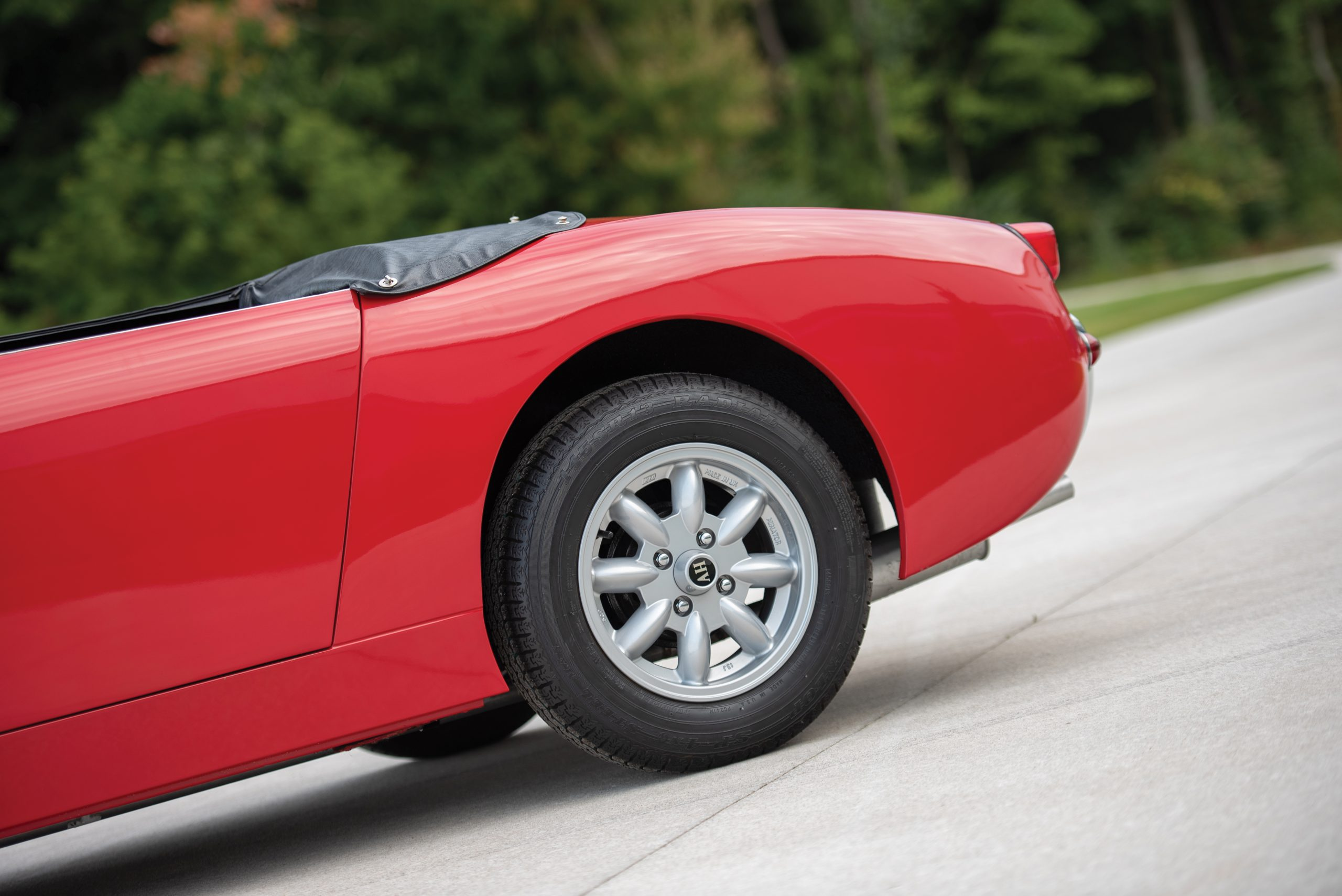 1959 Austin Healey Sprite Bugeye rear end