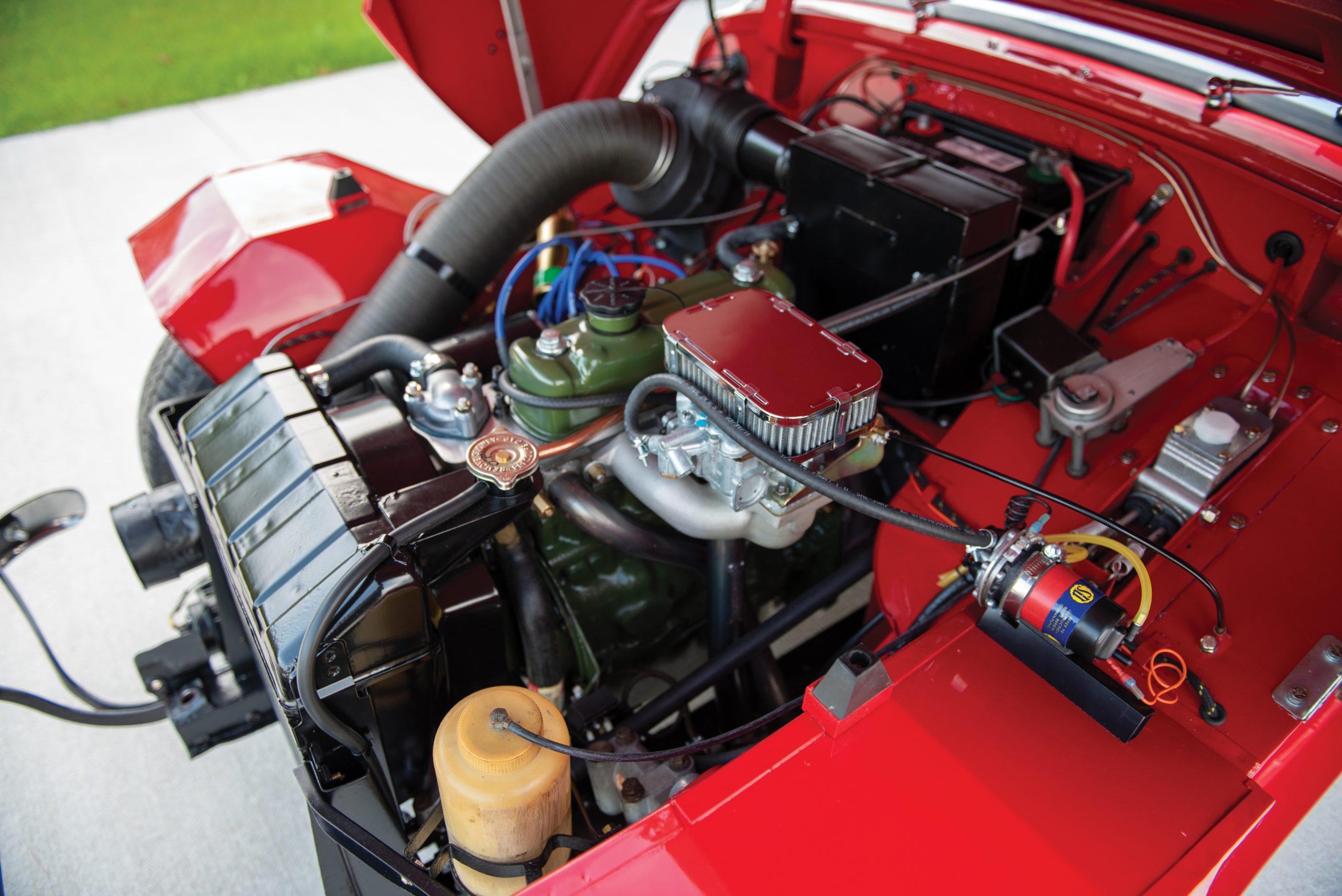 1959 Austin Healey Sprite Bugeye upgraded 4 cylinder