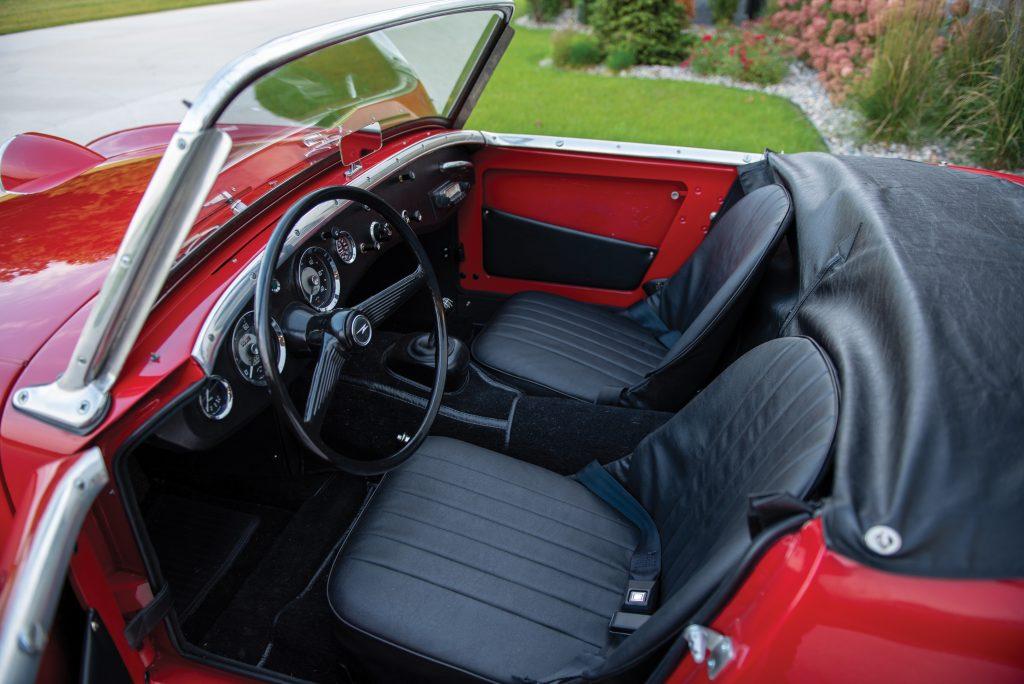 1959 Austin Healey Sprite Bugeye interior