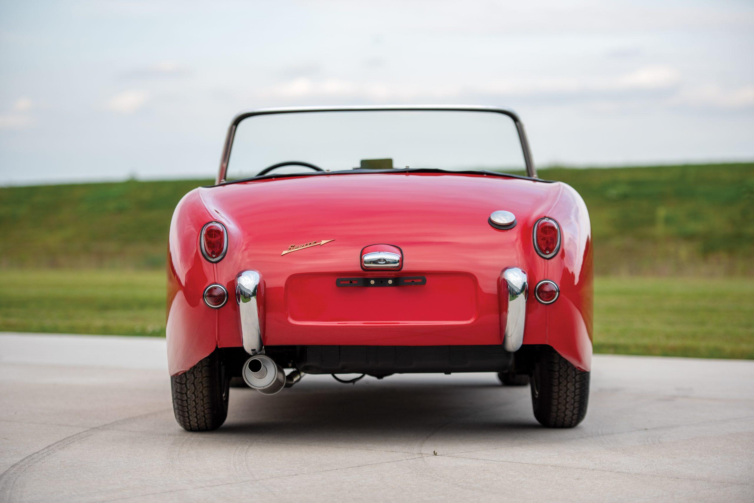 1959 Austin Healey Sprite Bugeye rear