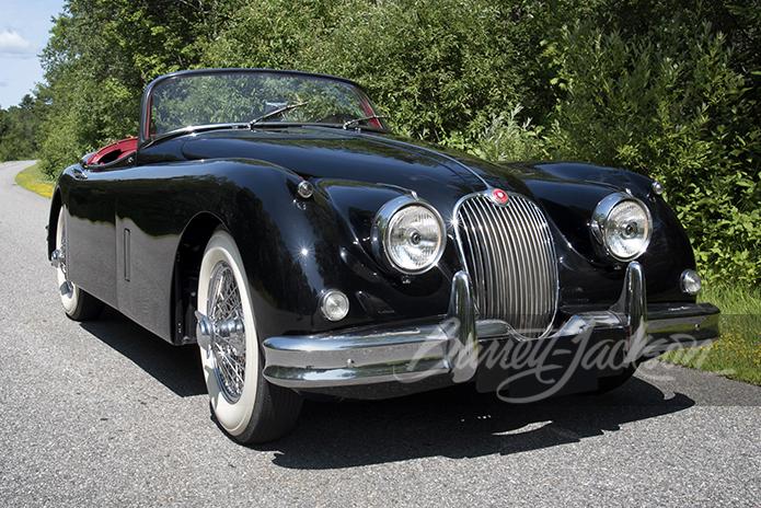 1961 Jaguar XK 150 front three-quarter