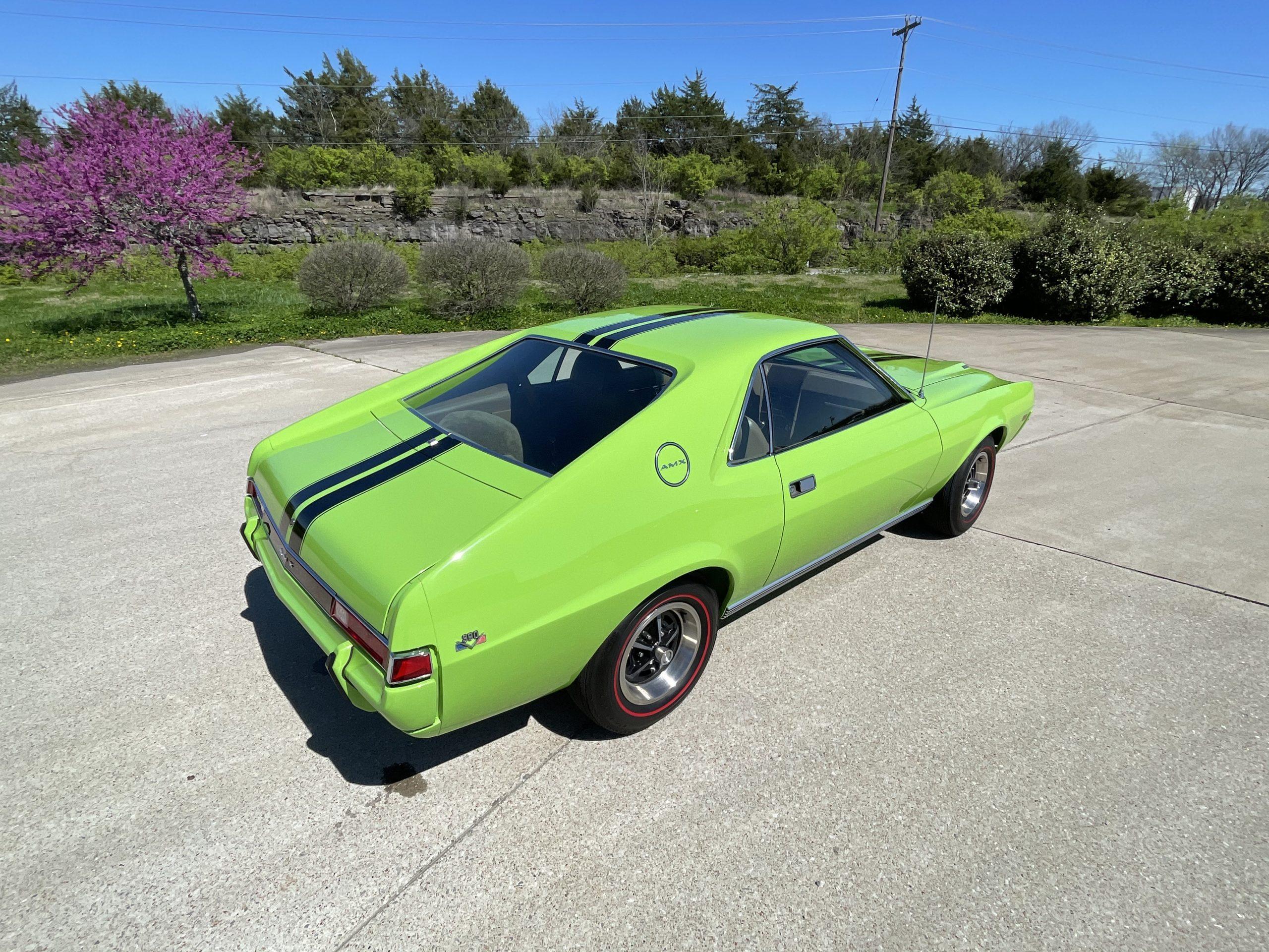 1969-AMC-AMX-California-500-Special rear three-quarter