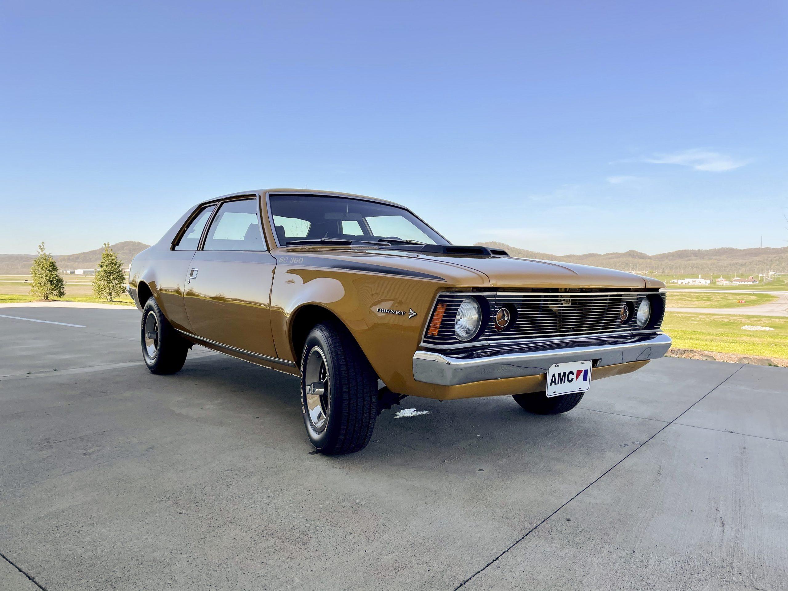 1971-AMC-Hornet-SC front three-quarter