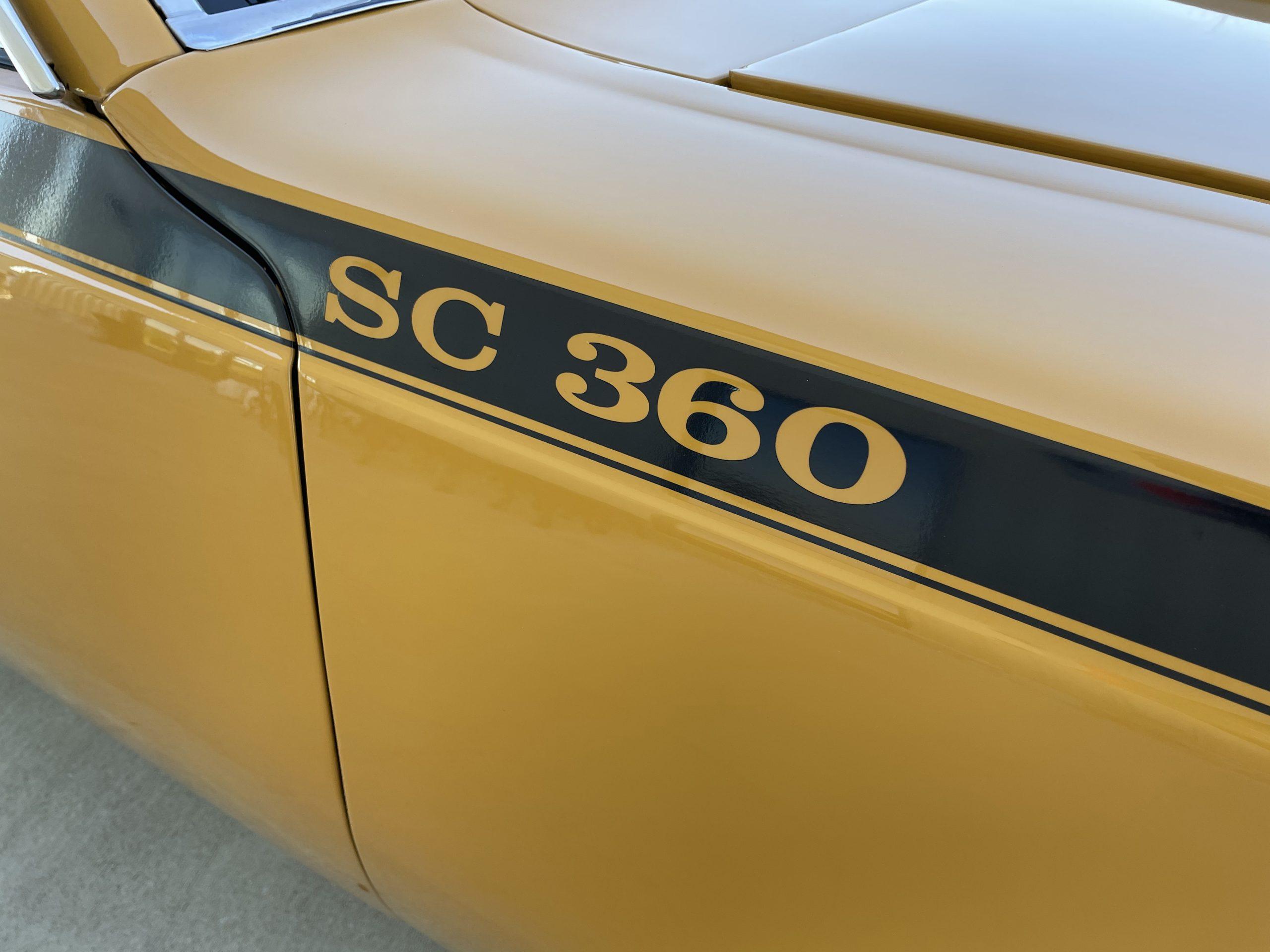 1971-AMC-Hornet-SC stripe detail