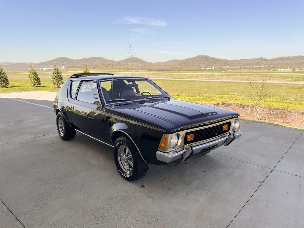 1972-AMC-Gremlin-X front three-quarter