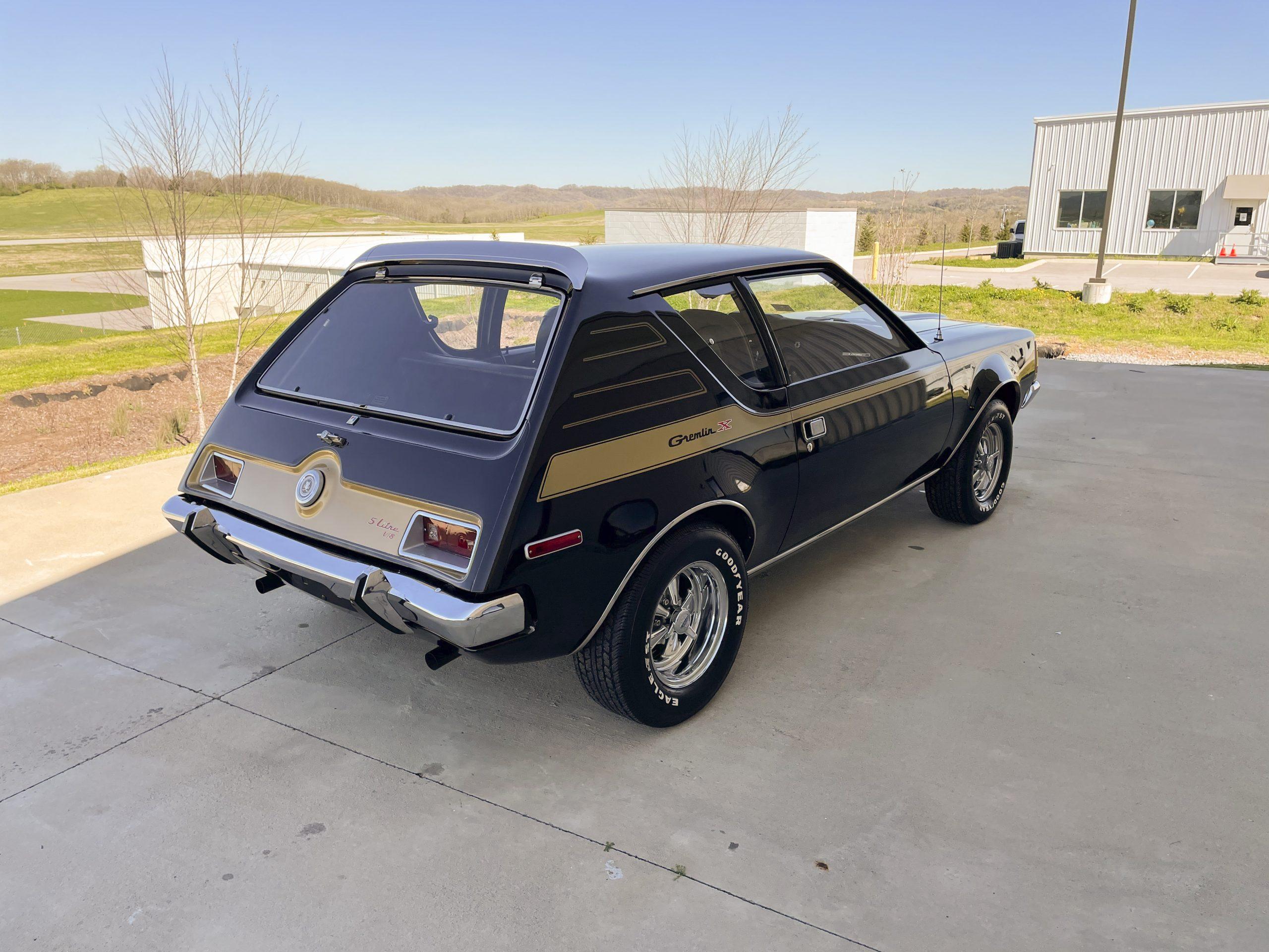 1972-AMC-Gremlin-X rear three-quarter