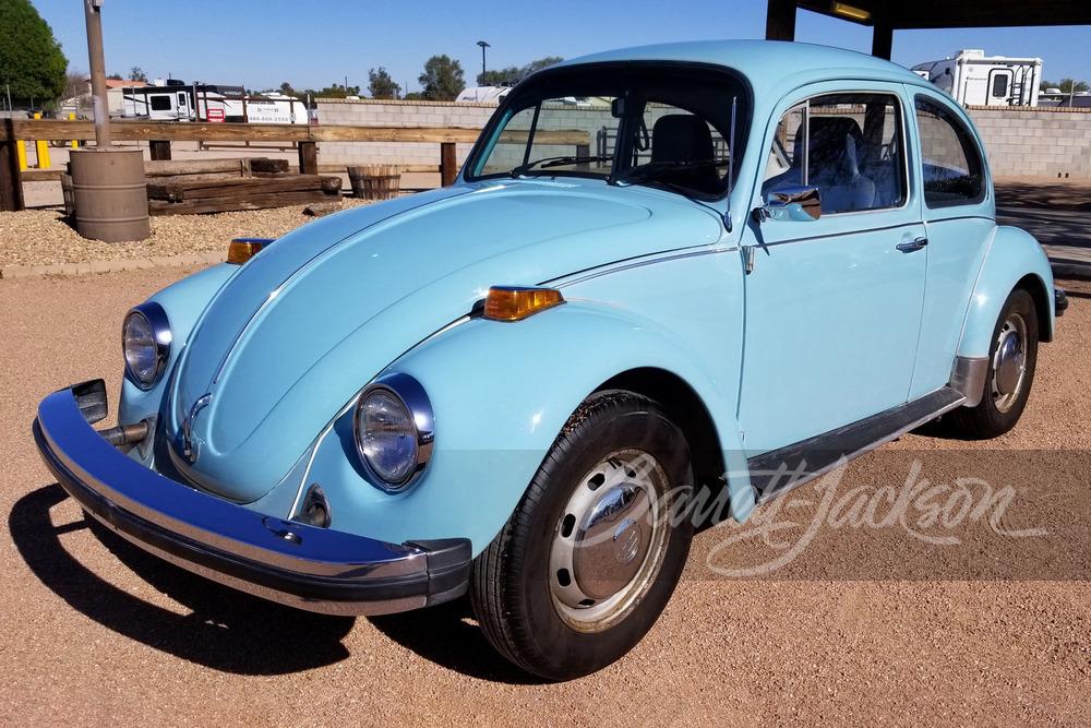 1974 Beetle front three-quarter