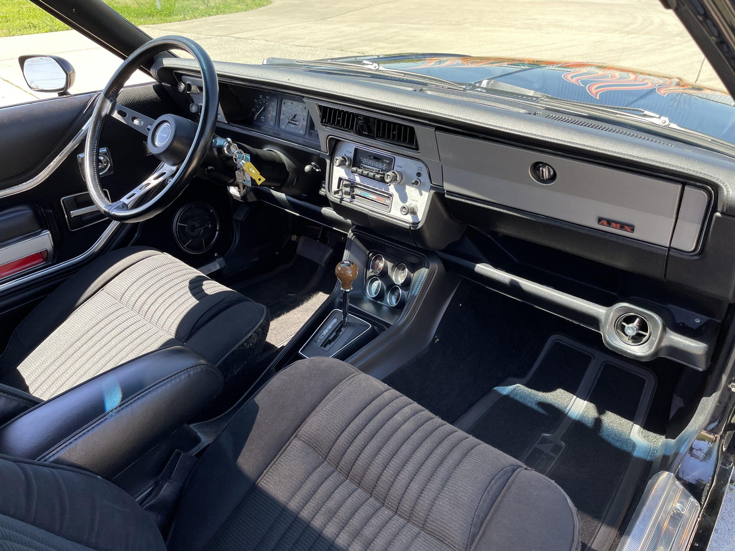 1979-AMC-Spirit-AMX interior